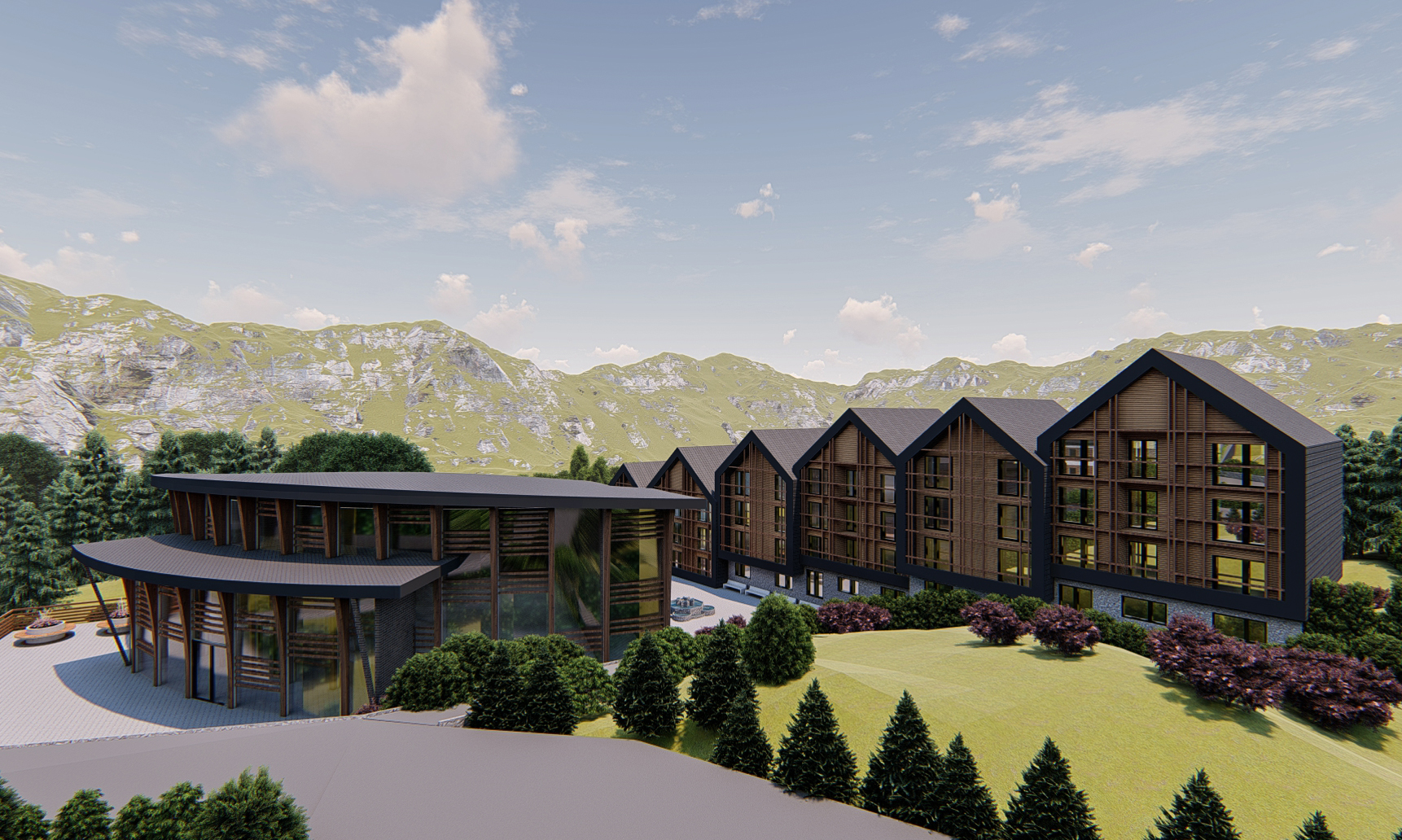 Luxury mountain suites